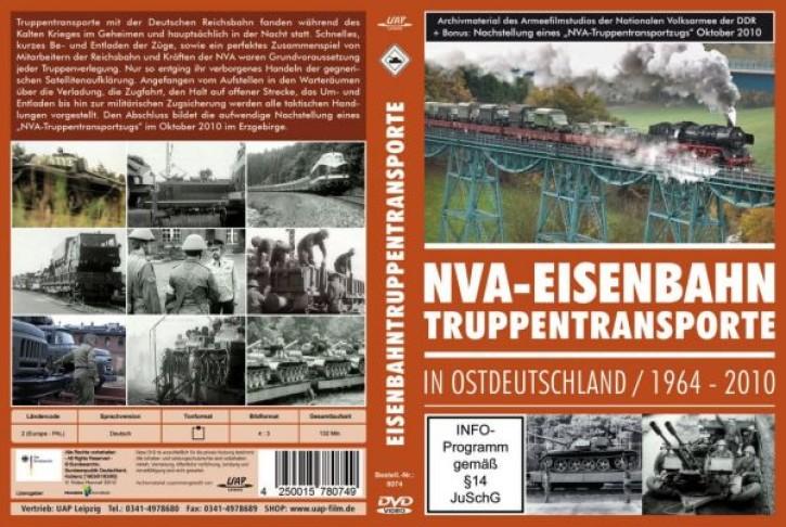 DVD: NVA - Eisenbahn-Truppentransporte in Ostdeutschland 1964-2010