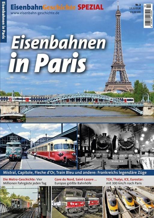 Eisenbahn Geschichte Spezial Nr. 2: Paris