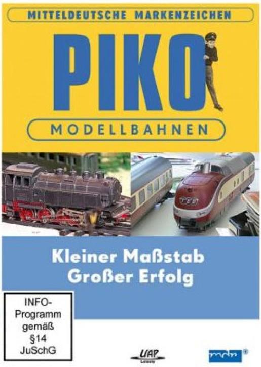 DVD: Mitteldeutsche Markenzeichen - PIKO Modellbahnen. Kleiner Maßstab - Großer Erfolg