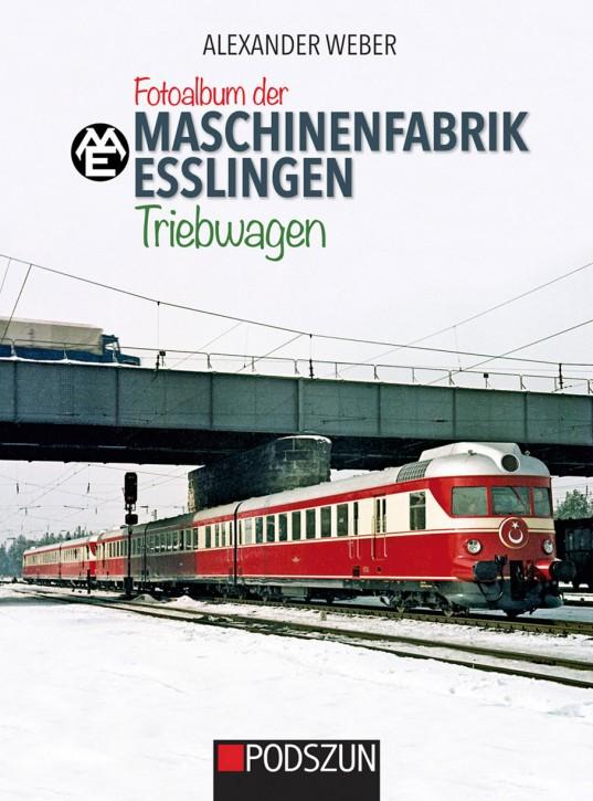 Fotoalbum der Maschinenfabrik Esslingen: Triebwagen. Alexander Weber