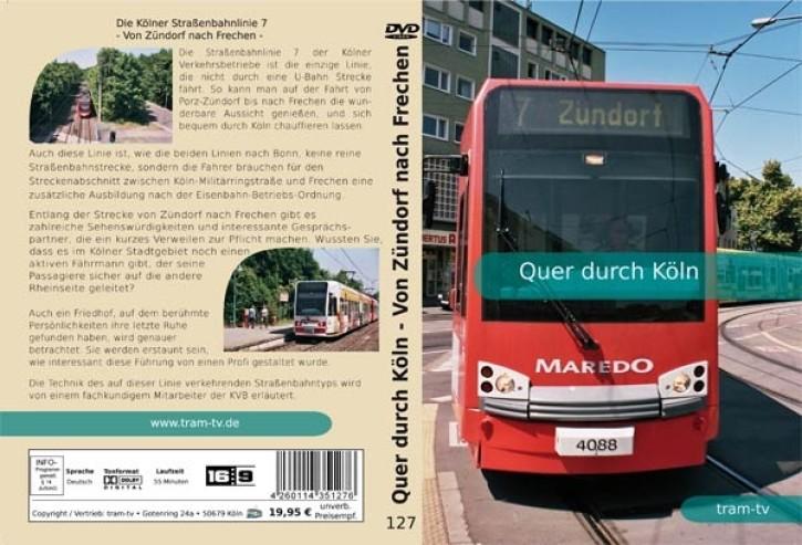 DVD: Quer durch Köln - Von Zündorf nach Frechen
