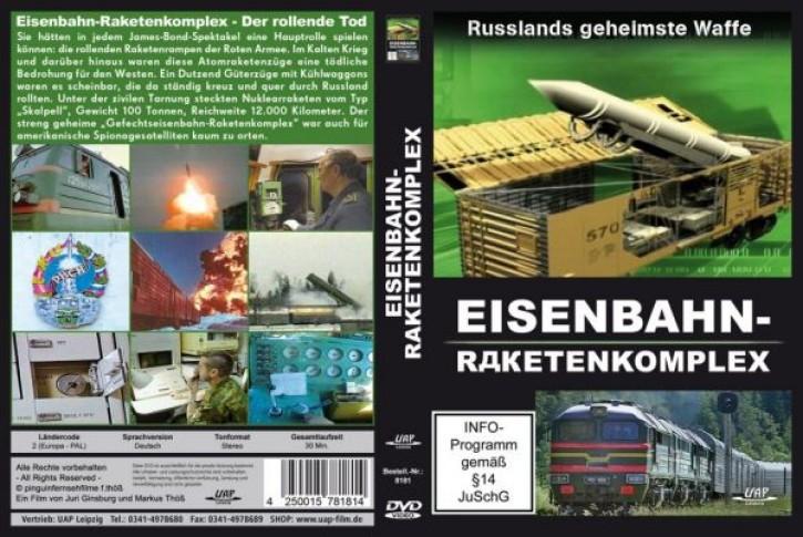 DVD: Eisenbahn-Raketenkomplex. Der rollende Tod - Russlands geheimste Waffe