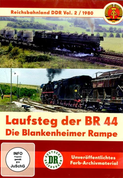 DVD: Reichsbahnland DDR Vol. 2. Laufsteg der BR 44 - Die Blankenheimer Rampe