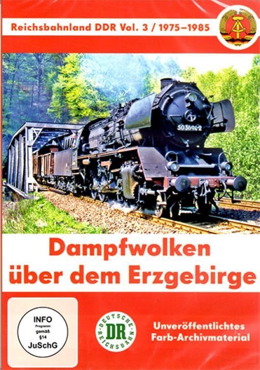 DVD: Reichsbahnland DDR Vol. 3 - 1975-1985. Dampfwolken über dem Erzgebirge