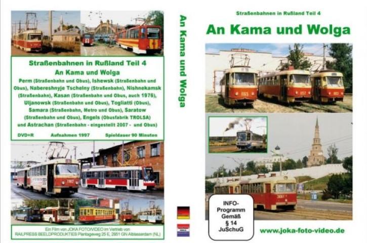 DVD: Straßenbahnen in Russland Teil 4. An Kama und Wolga
