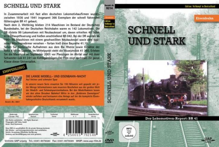 DVD: Schnell und stark. Der Lokomotiven-Report: BR 41