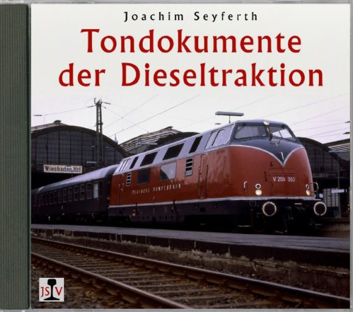 Doppel-CD: Tondokumente der Dieseltraktion