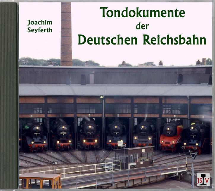 CD: Tondokumente der Deutschen Reichsbahn