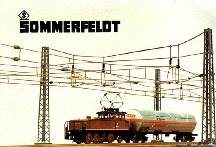 Antiquariat: Sommerfeldt-Katalog mit Bestellliste von 1985