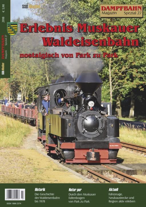 Dampfbahn-Magazin Spezial 27: Erlebnis Muskauer Waldeisenbahn