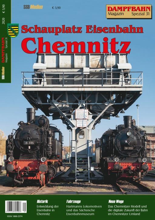 Dampfbahn-Magazin Spezial 31: Schauplatz Eisenbahn Chemnitz