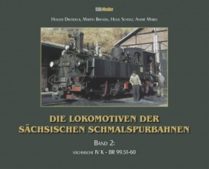 Die Lokomotiven der Sächsischen Schmalspurbahnen Band 2. sächsische IV K - BR 99.51-60