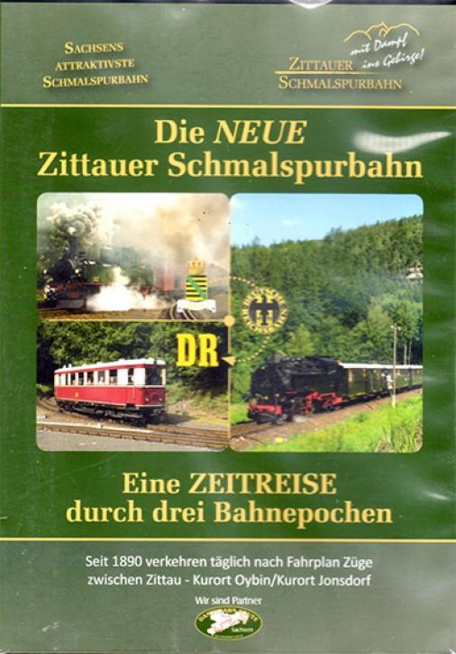 DVD: Die NEUE Zittauer Schmalspurbahn. Eine Zeitreise durch drei Bahnepochen