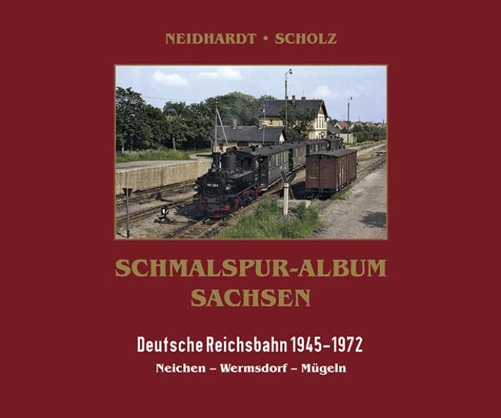 Schmalspur-Album Sachsen. Deutsche Reichsbahn 1945-1978. Mügelner Netz I: Neichen - Wermsdorf - Mügeln