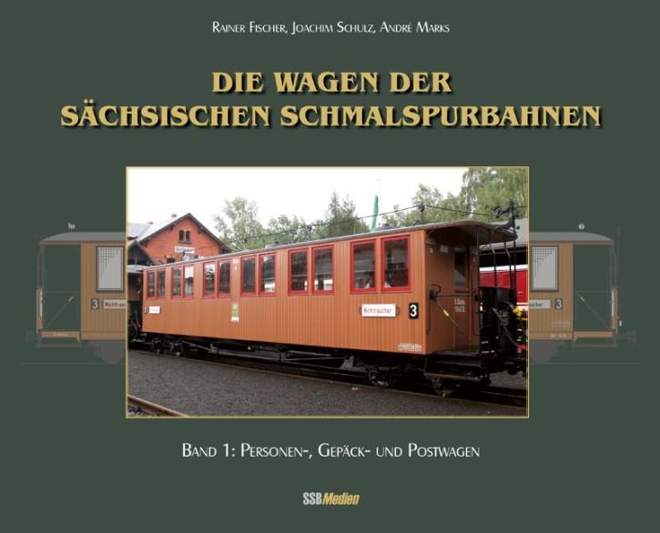 Die Wagen der sächsischen Schmalspurbahnen Band 1: Personen-, Gepäck- und Postwagen. Rainer Fischer, Joachim Schulz & André Marks