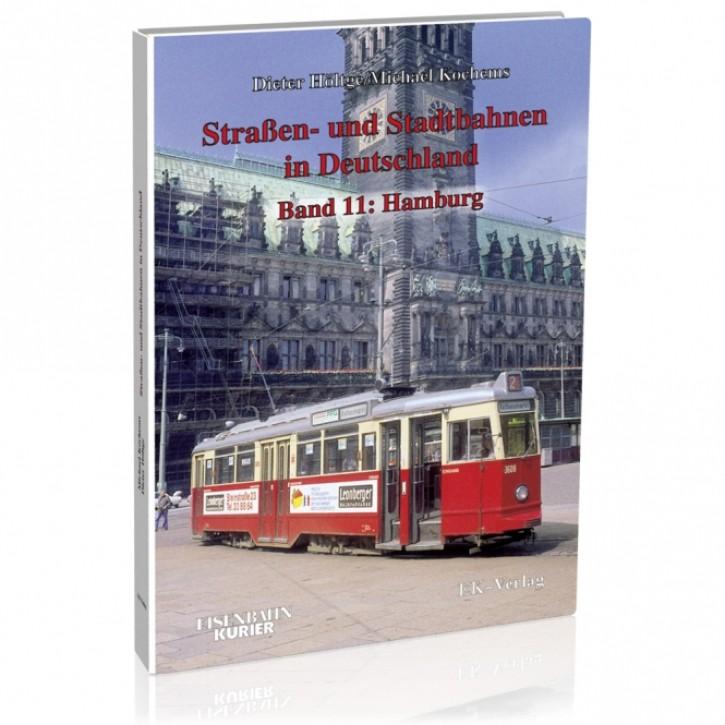Straßen- und Stadtbahnen in Deutschland Band 11: Hamburg. Dieter Höltge & Michael Kochems