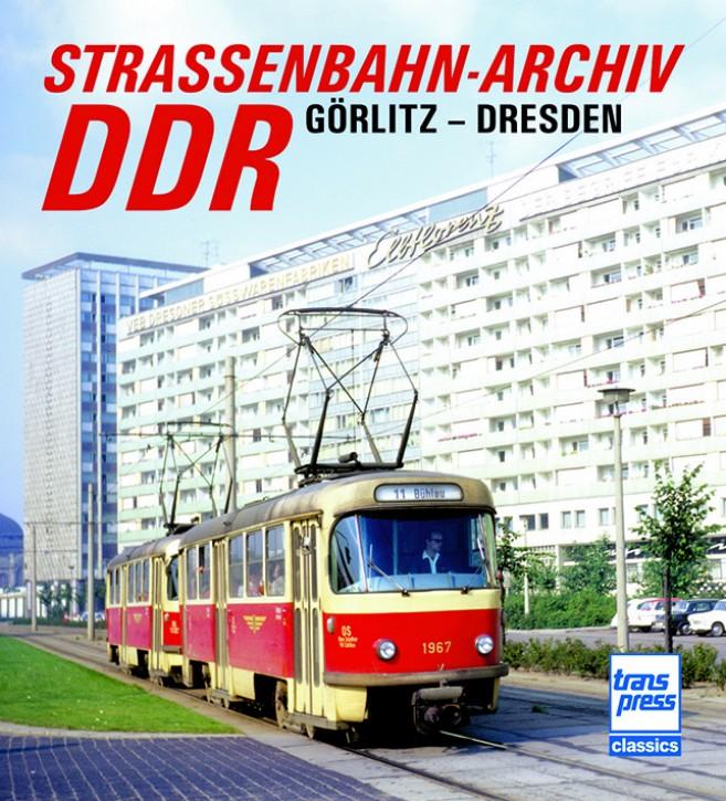 Straßenbahn-Archiv DDR. Raum Görlitz - Dresden. Gerhard Bauer