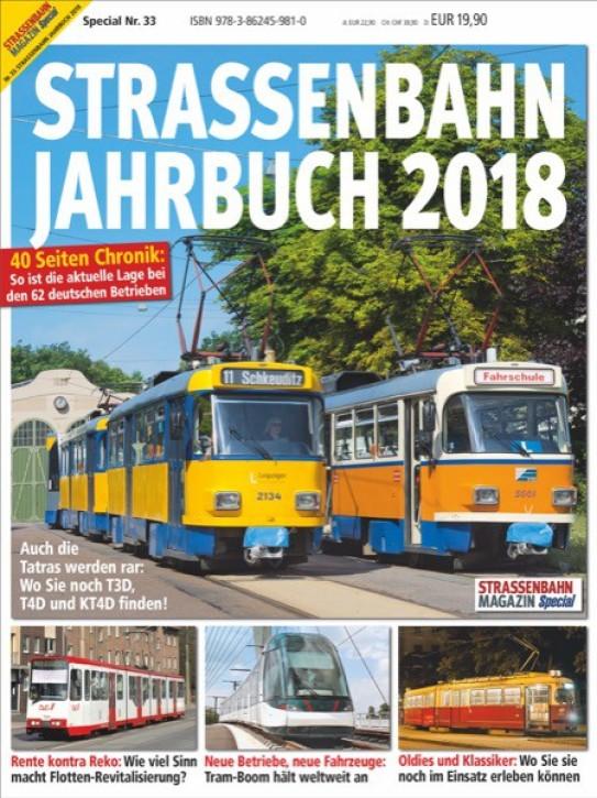 Strassenbahn Magazin Special 33: Strassenbahn Jahrbuch 2018