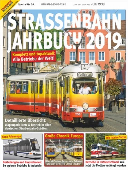 Strassenbahn Magazin Special 34: Straßenbahn Jahrbuch 2019