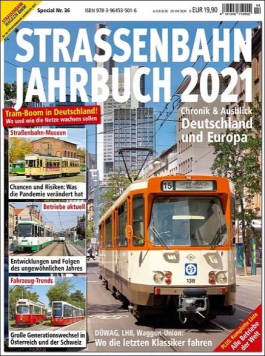 Straßenbahn Special 36: STRASSENBAHN JAHRBUCH 2021