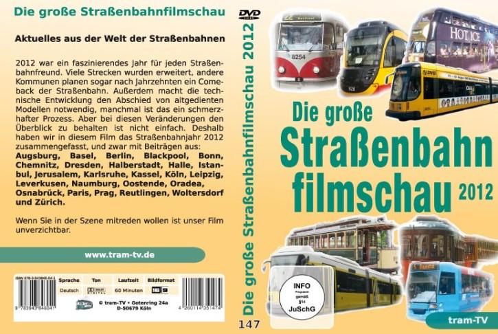 DVD: Die große Straßenbahnfilmschau 2012