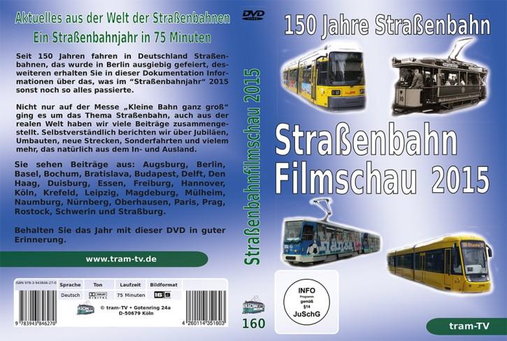 Blu-ray: Die große Straßenbahnfilmschau 2015. 150 Jahre Straßenbahnen in Deutschland
