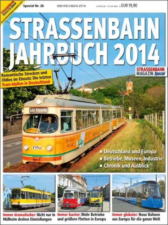 STRASSENBAHN MAGAZIN SPECIAL 27: Straßenbahn Jahrbuch 2014
