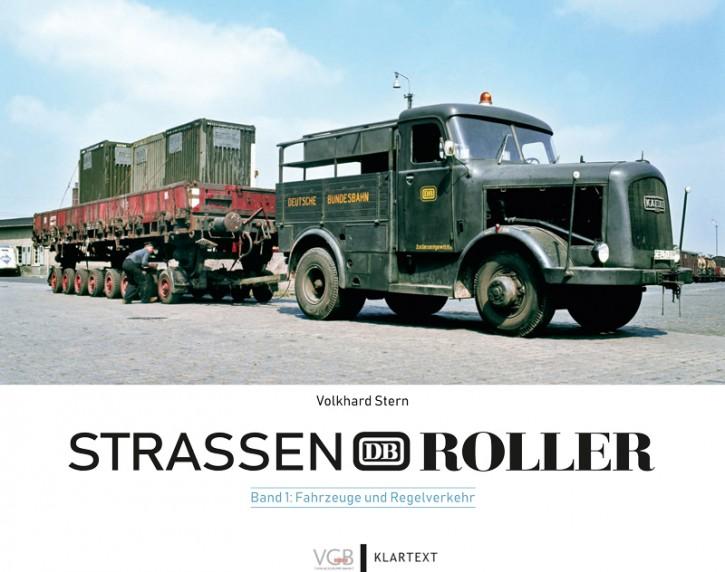 Straßenroller der Deutschen Bundesbahn Band 1. Fahrzeuge und Regelverkehr. Volkhard Stern