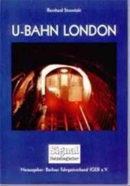 U-Bahn London. Bernhard Strowitzki