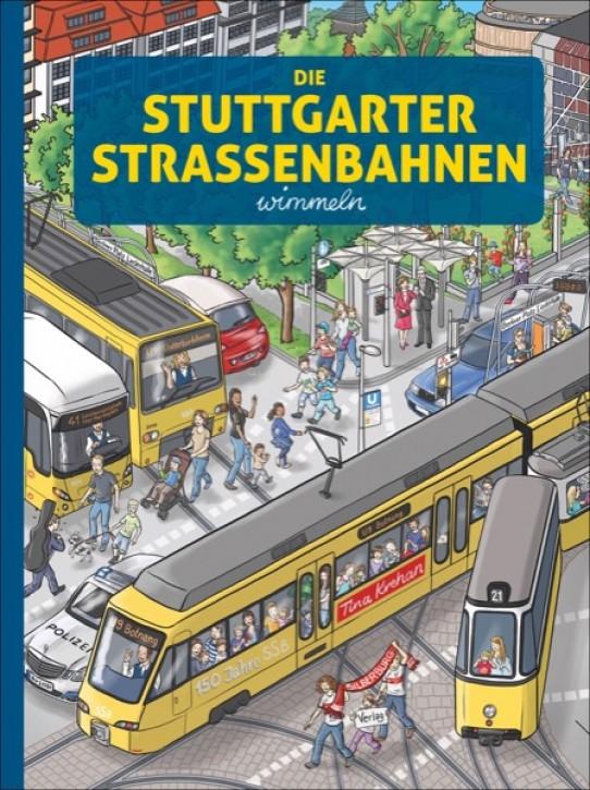 Die Stuttgarter Straßenbahnen wimmeln. Tina Krehan