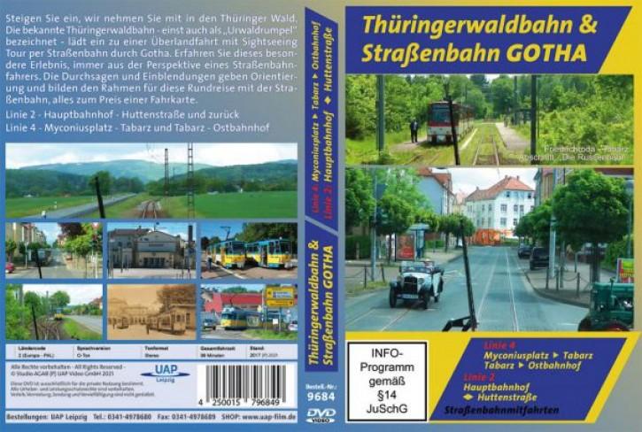 DVD: Thüringerwaldbahn & Straßenbahn Gotha - Linien 2 und 4