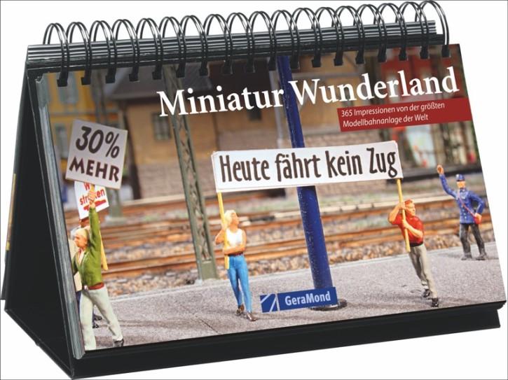 Tischaufsteller Miniatur Wunderland