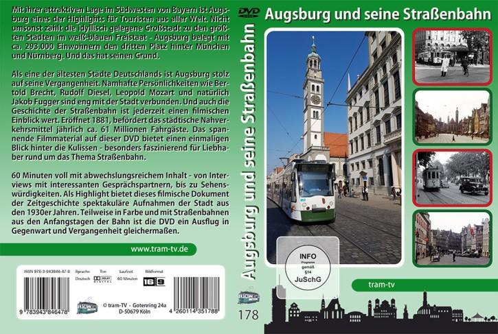 Blu-ray: Augsburg und seine Straßenbahn