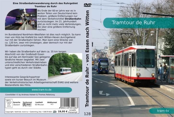 DVD: Tramtour de Ruhr. Eine Straßenbahnwanderung durch das Ruhrgebiet