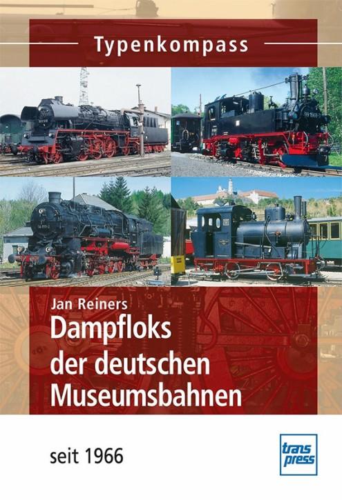 Dampfloks der deutschen Museumsbahnen - seit 1966. Jan Reiners