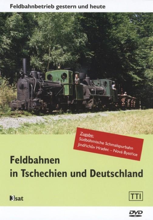 DVD: Feldbahnen in Tschechien und Deutschland