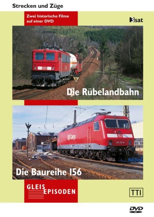 DVD: Die Rübelandbahn + Die Baureihe 156