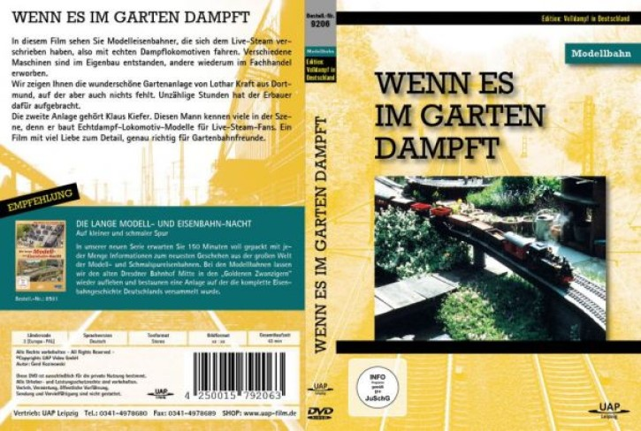 DVD: Wenn es im Garten dampft