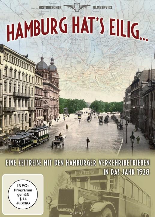 DVD: Hamburg hat's eilig. Eine Zeitreise mit den Hamburger Verkehrsbetrieben in das Jahr 1928