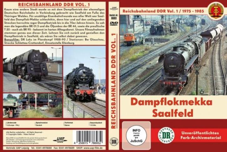 DVD: Reichsbahnland DDR Vol. 1 - Dampflokmekka Saalfeld 1975-1985