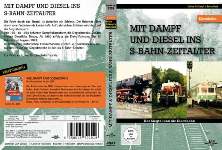 DVD: Das Siegtal und die Eisenbahn