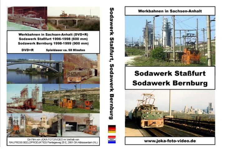 DVD: Werkbahnen in Sachsen-Anhalt. Sodawerk Staßfurt und Sodawerk Bernburg