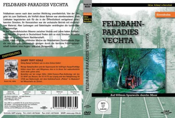 DVD: Feldbahn-Paradies Vechta. Auf 600 mm durchs Moor