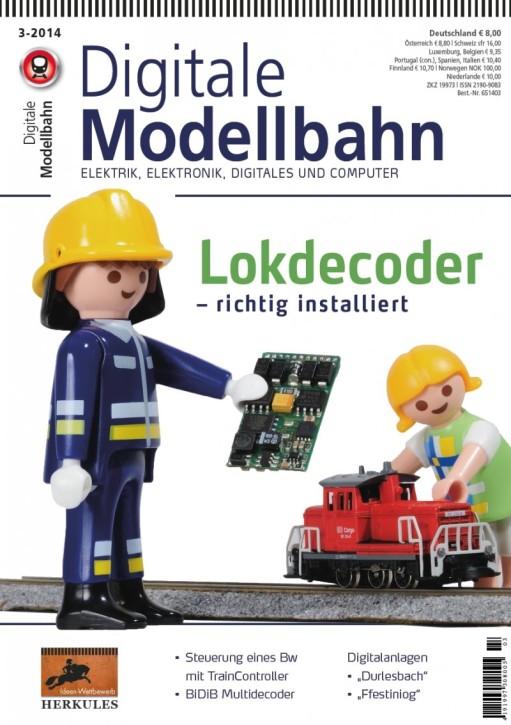 Digitale Modellbahn 3-2014. Funktionen - Effekte für Loks