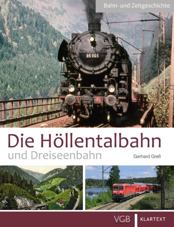 Die Höllentalbahn und Dreiseenbahn. Von Freiburg in den Schwarzwald. Gerhard Greß
