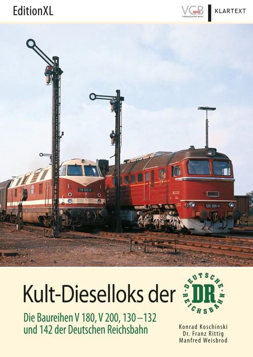 EditionXL 1-2018: Kult-Dieselloks der Deutschen Reichsbahn - DR - Die Baureihen V 180, V 200, 130-132 und 142