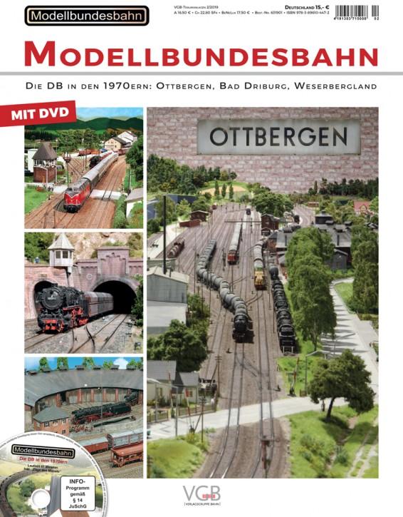 VGB Traumanlagen: Modellbundesbahn. Die DB in den 1970er-Jahren