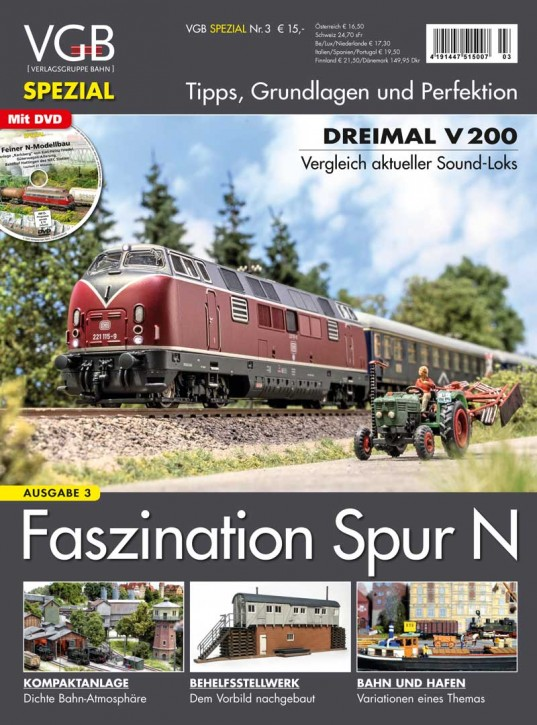 VGB Spezial: Faszination Spur N Ausgabe 3. Tipps, Grundlagen und Perfektion