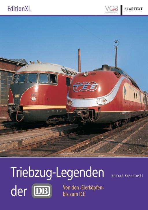 """Triebzug-Legenden der DB. Von den """"Eierköpfen"""" zum ICE. Konrad Koschinski"""