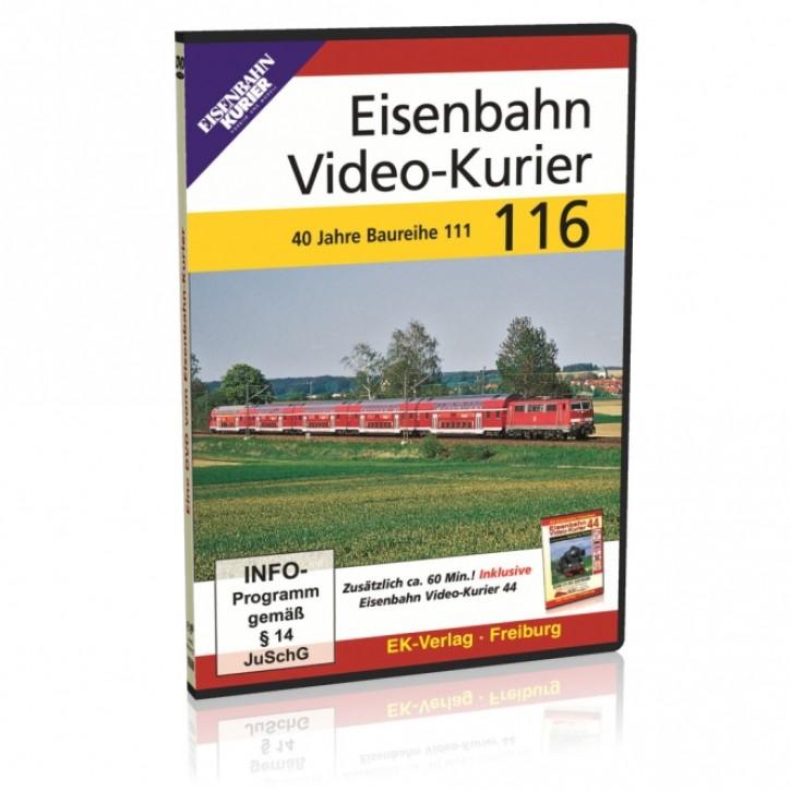 DVD: Eisenbahn Video-Kurier 116. 40 Jahre Baureihe 111